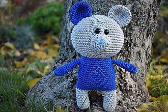 Hračky - Macko modré uško - 11341042_
