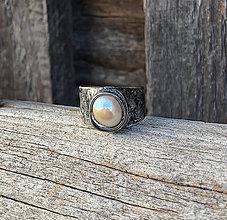 Prstene - Riečna perla - prsteň - 11340046_
