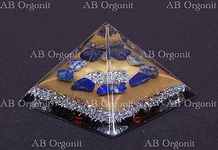 Dekorácie - Cheopsova pyramída - orgonit - 11341682_