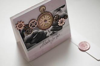 Papiernictvo - Pohľadnica - Šťastie je čas - 11342009_