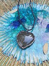 Náhrdelníky - Labradorské srdce - 11340406_