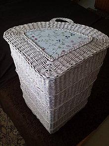 Košíky - Kôš na prádlo rohový - 11341377_
