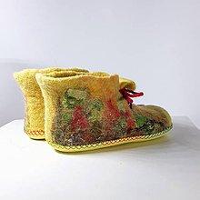 Topánočky - Šnurovacie detské papučky - 11341722_