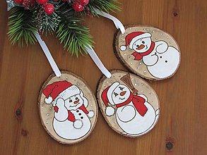 Dekorácie - Vianočné ozdoby z dreva VI - 11341824_