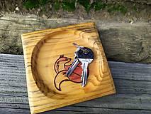 Nádoby - Mini tanierik Líškavý - 11340418_