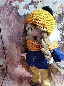 Hračky - zimná bábika - 11345691_