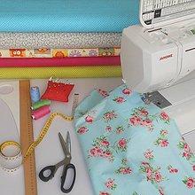 Úžitkový textil - Pyžamožrút+sponkovník - 11343174_