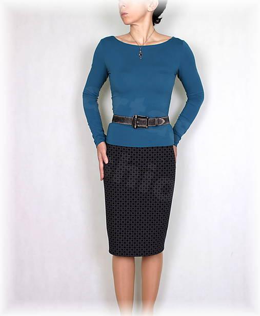 Sukně luxusní úplet,podzim,zima vz.659