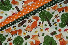 Textil - Látka Líštička kmotrička - 11343101_
