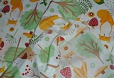 Textil - Látka Lesné zvieratká  - 11343111_