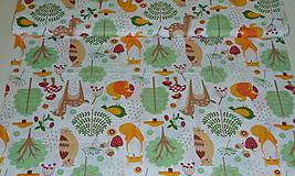 Textil - Látka Lesné zvieratká  - 11343113_