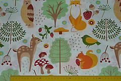Textil - Látka Lesné zvieratká  - 11343132_