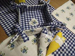 Úžitkový textil - Textilný košík.... - 11343344_