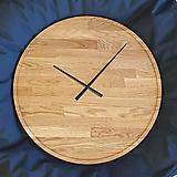 Hodiny - Marc Round Clock 60 cm - Dubové hodiny - 11346962_