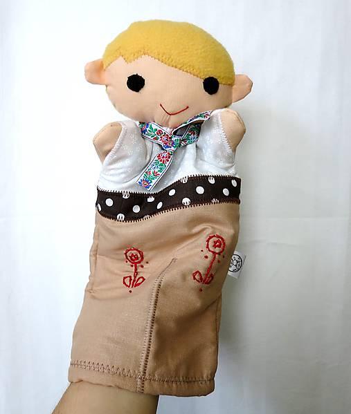 Maňuška folk chlapec (Ľudovít)