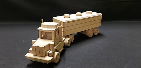 Hračky - Drevené auto hračka - 11346380_
