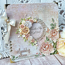 Papiernictvo - Svadobný fotoalbum - 11345837_