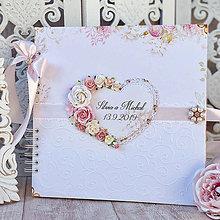 Papiernictvo - Svadobný fotoalbum - 11345922_