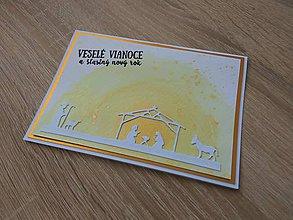 """Papiernictvo - Vianočná pohľadnica """"Betlehem"""" - 11343499_"""