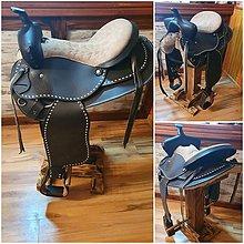 Nábytok - Barova stolička sedlo - 11344546_