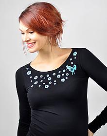 Tričká - Tričko Nightingale  (XS - Ružová) - 11343232_