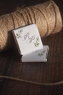 """Darčeky pre svadobčanov - Čokoládka - """"zelené vetvičky"""" - 11344052_"""
