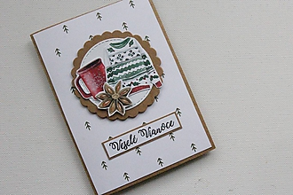 Papiernictvo - Vianočná pohľadnica - 11344842_