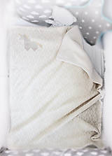 """Textil - Vianočný balík """"Jednorožec"""" béžový - 11344294_"""