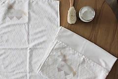"""Textil - Vianočný balík """"Jednorožec"""" béžový - 11344296_"""