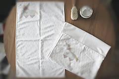 """Textil - Vianočný balík """"Jednorožec"""" béžový - 11344297_"""
