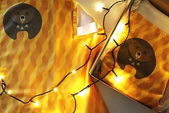 """Textil - Vianočný balík """"Medveď"""" - 11344216_"""