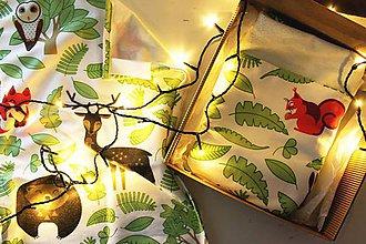 "Textil - Vianočný balík ""Les"" - 11344235_"