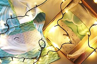 """Textil - Vianočný balík """"Veľryba"""" - 11344269_"""