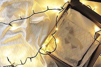 """Textil - Vianočný balík """"Jednorožec"""" béžový - 11344286_"""
