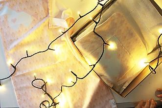 """Textil - Vianočný balík """"Jednorožec"""" ružový - 11344324_"""
