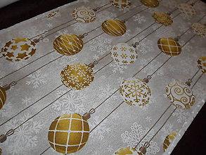 Úžitkový textil - Vianočný obrus stredový. - 11343883_