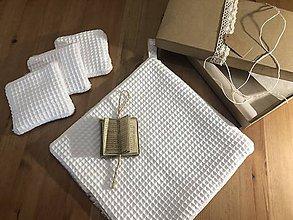 Úžitkový textil - Vianočný set pre Snehovú kráľovnú - 11347276_