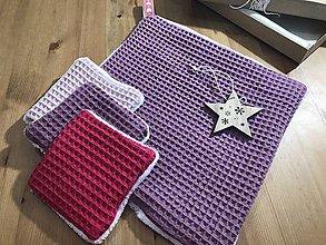 Úžitkový textil - Vianočný set pre Šípovú Ruženku - 11347343_