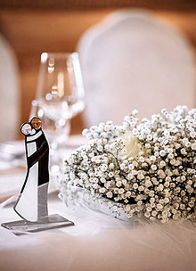 Darčeky pre svadobčanov - Nevesta a ženích - 11344203_