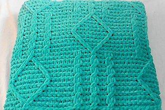 Textil - Jemnučká a ľahká  detská deka ombre - 11346337_