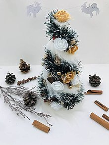 Dekorácie - Vianočný stromček - 11345359_
