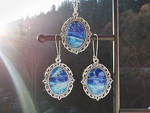 Sady šperkov - Set Blue moon - 11343284_