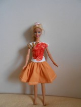Hračky - Oblečenie pre barbie - 11343595_