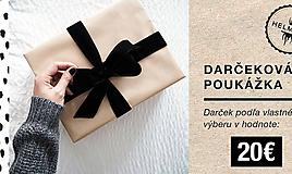 Darčekové poukážky - Darčeková poukážka - 11348914_