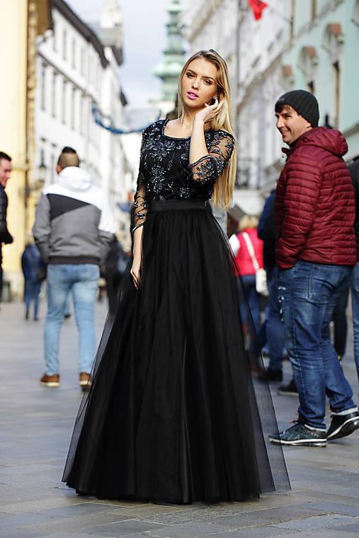 Tylová sukňa Vanes
