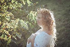 Ozdoby do vlasov - Mosadzná rozprávková koruna - Devanka - 11348110_