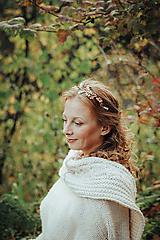 Ozdoby do vlasov - Mosadzná čelenka s listami  - Devanka - 11348207_