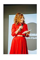 Ozdoby do vlasov - Mosadzná listová červená čelenka - Devanka - 11348760_