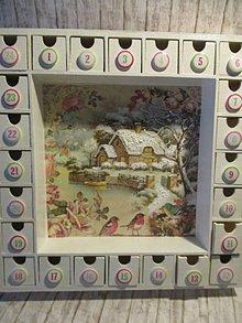Krabičky - Adventný kalendár - 11348453_