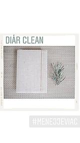 Papiernictvo - Diár clean - menej je viac - 11347845_